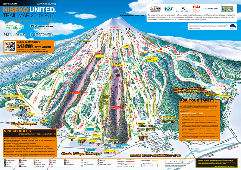 niseko map
